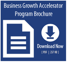 Business Growth Accelerator Program brochure