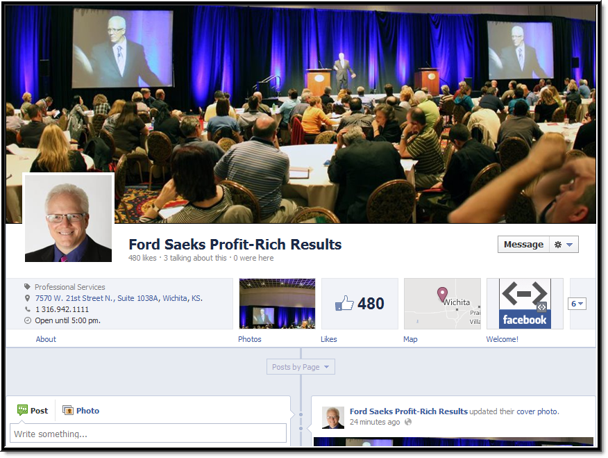 Connect with Profit Rich Results on Facebook.