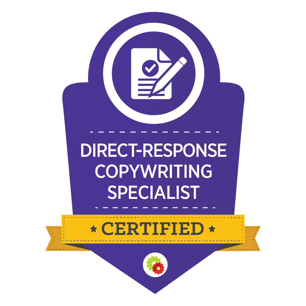 Direct-Response Copywriting Specialist – Ford Saeks Certified