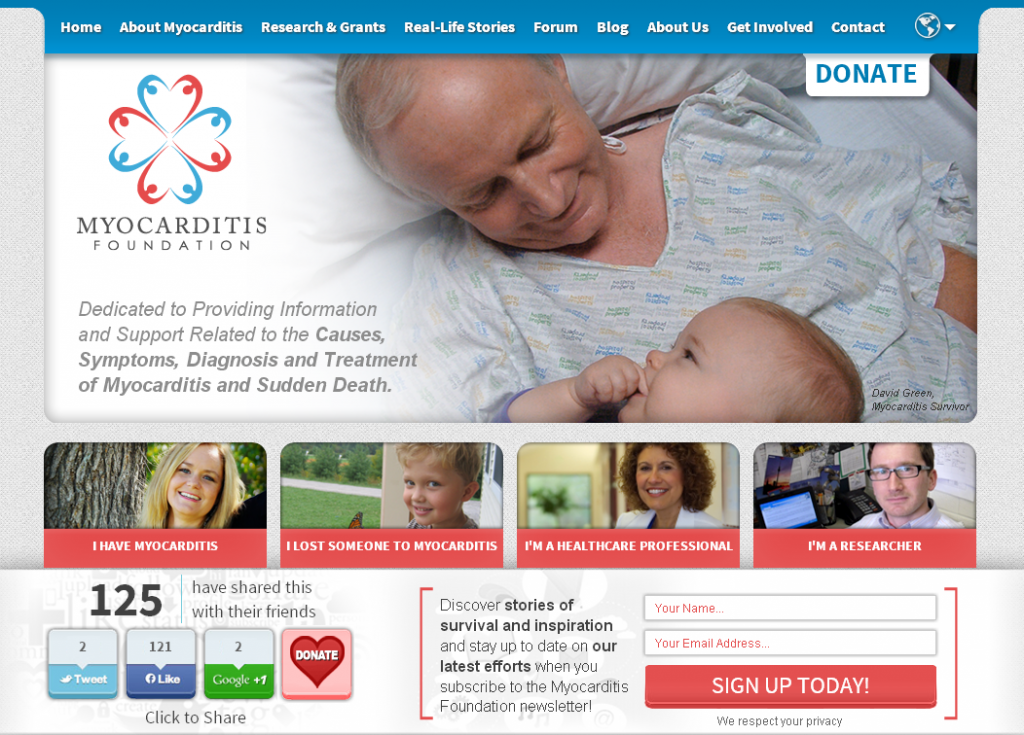 Non-Profit Website Design by Prime Concepts Group