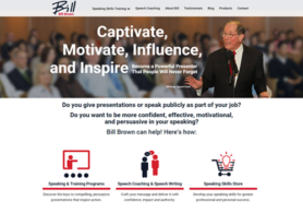 Bill Brown Speech Coach Website