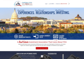 Capital City REIA (Real Estate Investment Association) Website