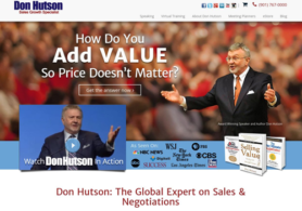 Don Hutson Website