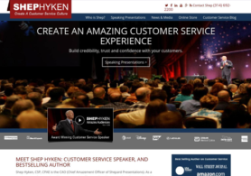 Shep Hyken Website